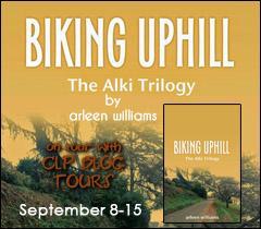 biking uphill button